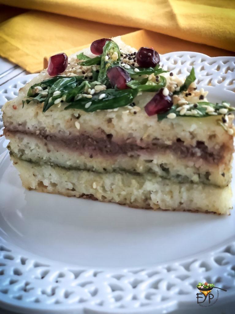 Idli Rava Sandwich Dhokla - Khatta Dhokla - Savory Steamed Rice Cake - Instant Pot Recipe