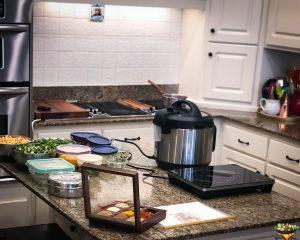 Kitchen Preparation for Indian Culinary Experience