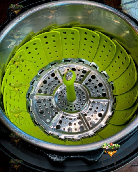 Steamer basket in the instant pot