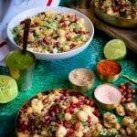 Makhana Bhel or Bhelpuri - Gluten & Soy Free Vegan Foxnut Indian Salad