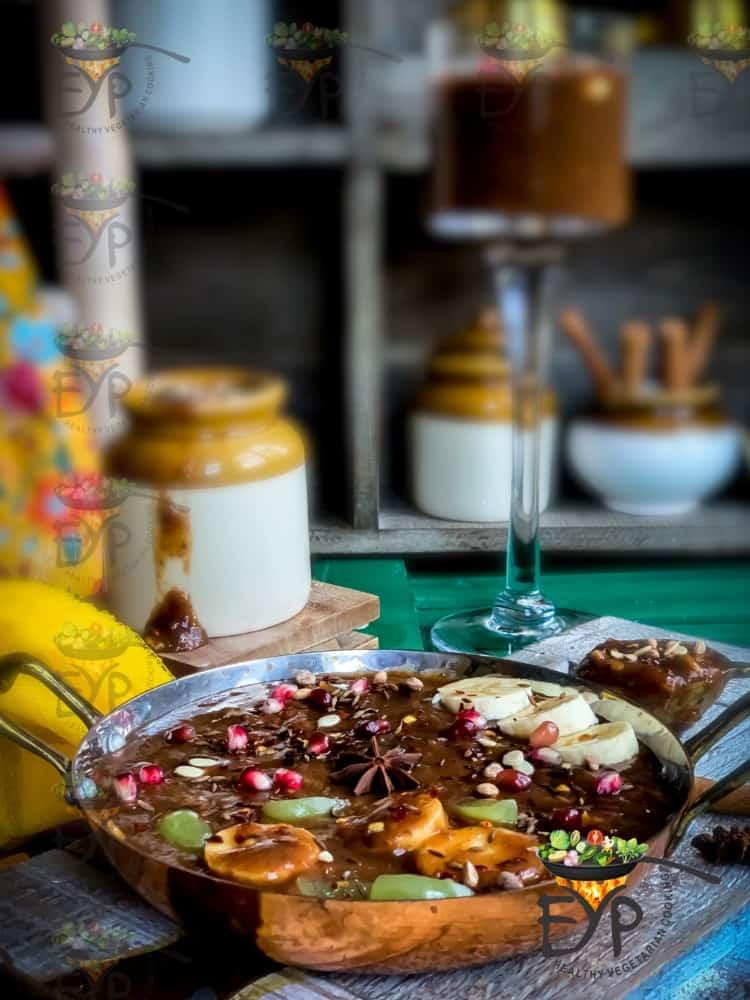 Green Mango Meethi Chutney, Saunth