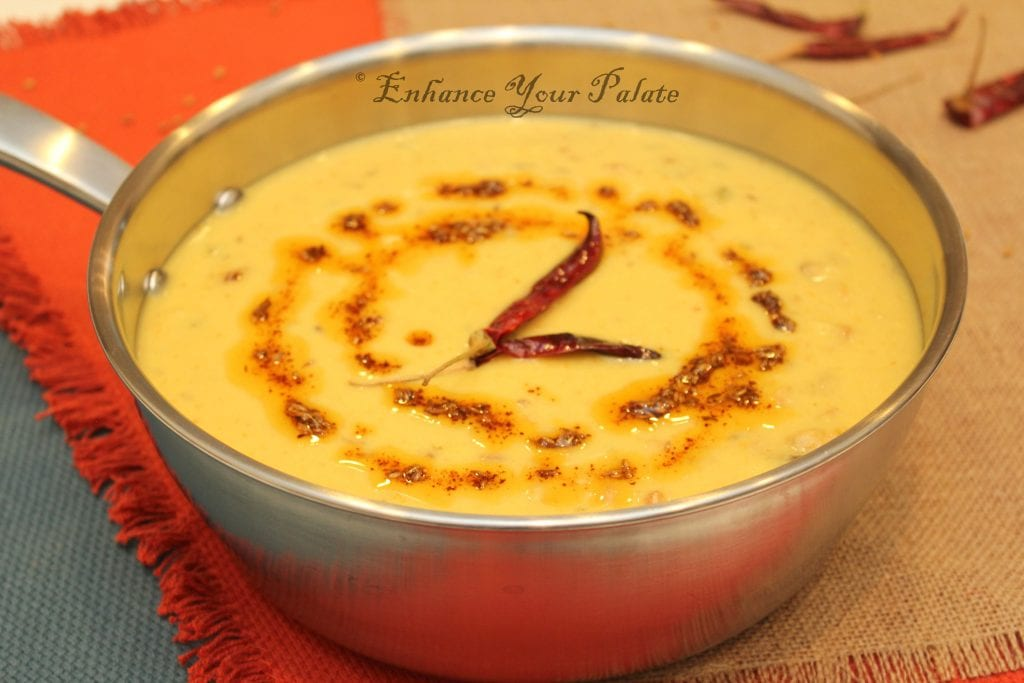 Mangodi Papad Kadhi Indian Yogurt Curry – Rajasthani Kadhi Recipe