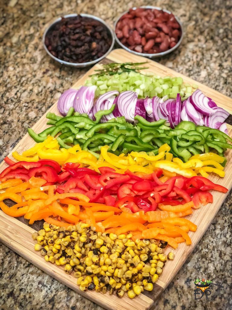Mexican Quinoa Recipe Ingredients