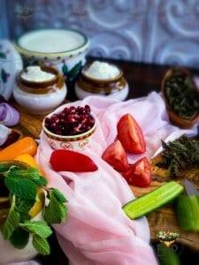 Promegranate for Mixed Vegetable Raita