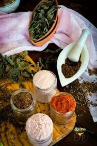 Seasoning for vegetable Raita