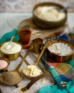 Namak Para dough flour ingredients