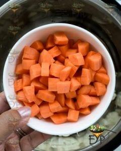 Adding carrots