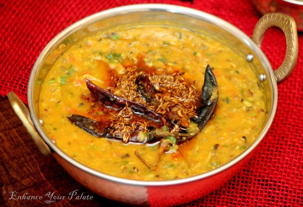Five Lentil Soup (Panchmel Rajasthani Dal)