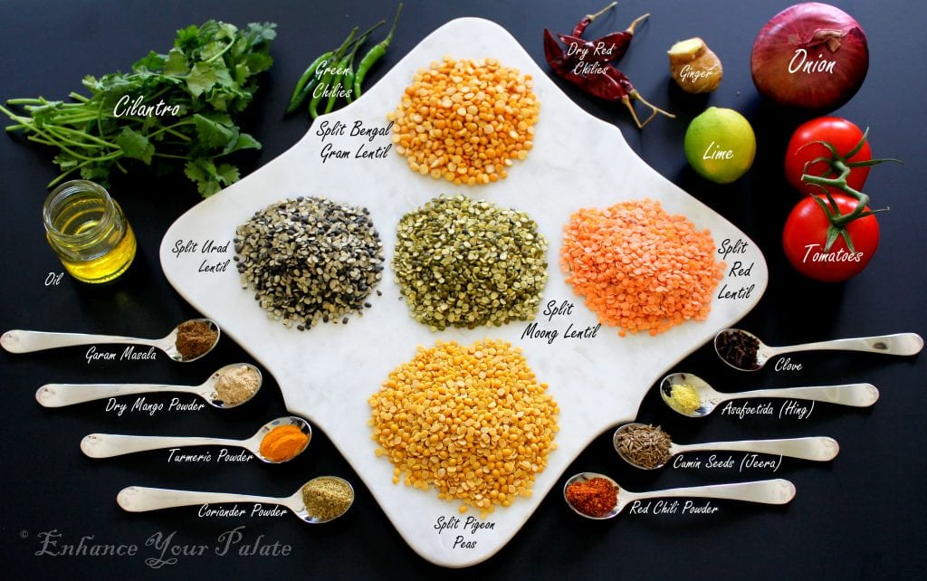 Panchmel Dal Ingredients