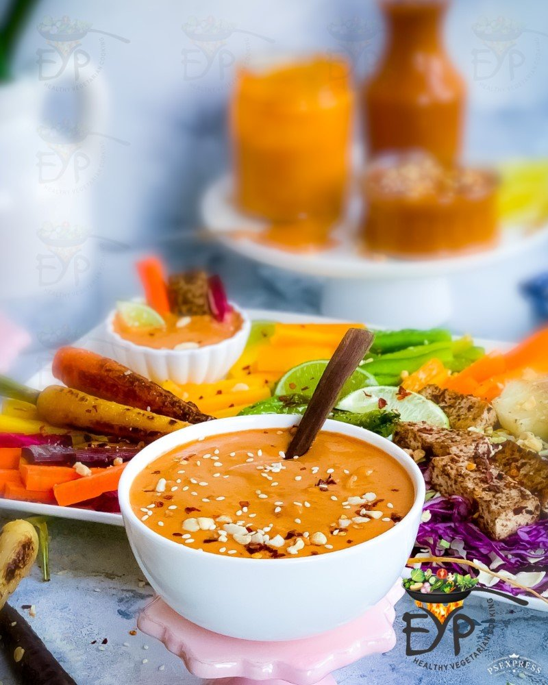 Easy Homemade Peanut Satay Sauce