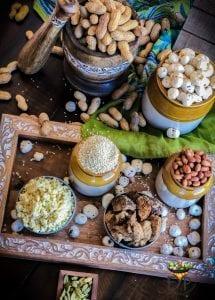 Peanut, Sesame seeds (til) and jaggery (gud)