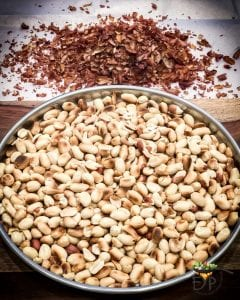 Roasted Peanuts with skin removed