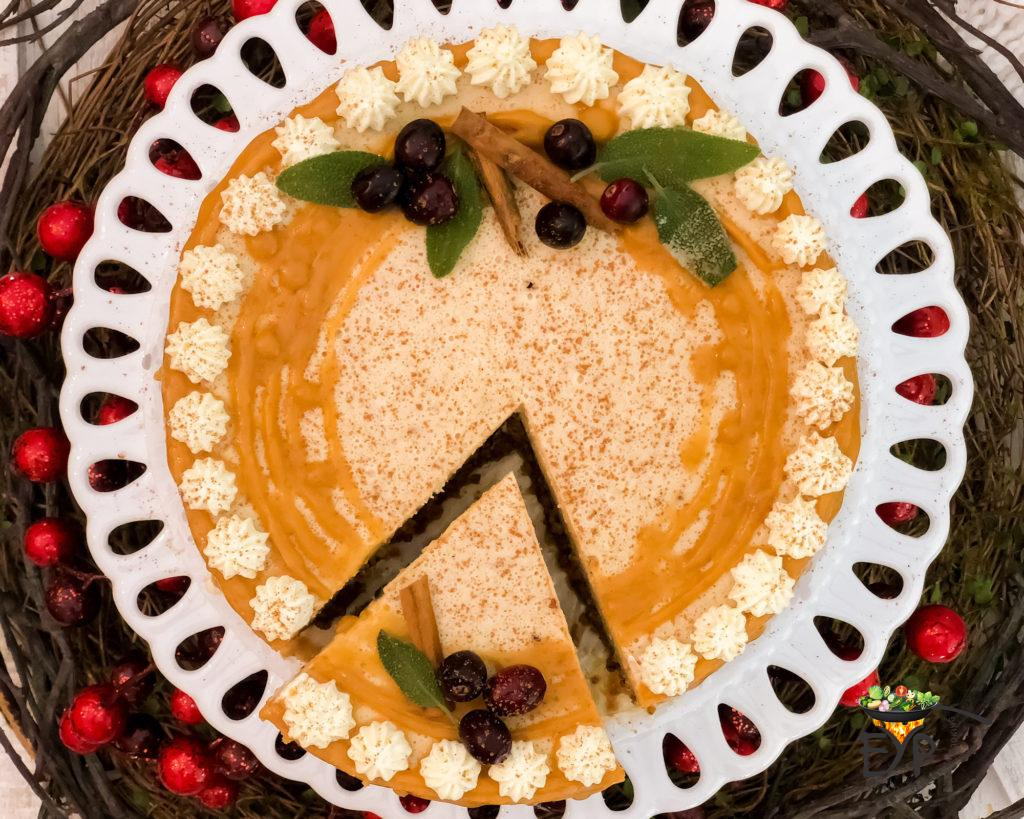Gluten Free Pumpkin CheesecakeInstant Pot Pumpkin Cheesecake
