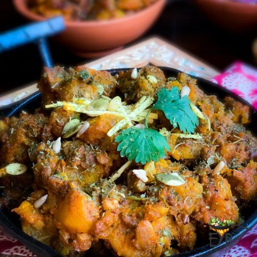 Sweet and Sour Pumpkin Curry – Khatta Meetha Kaddu