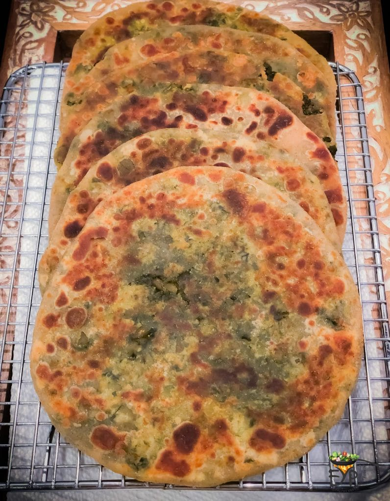 Stuffed Paratha Roasting_final Image from Enhance Your Palate