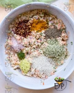 before mixing all spices and seeds
