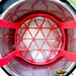 Trivet in instant pot inner pot