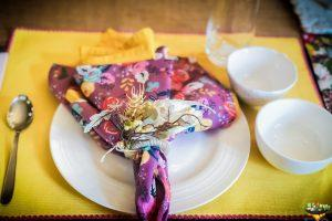 Colorful Plate Setting