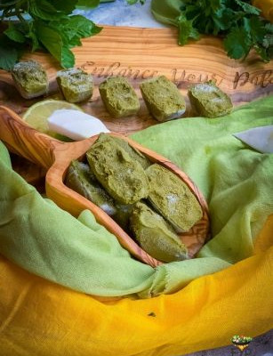 Vegan Thai Green Curry Paste Frozen Cubes