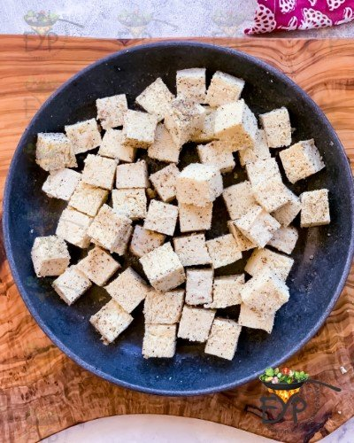 Chopped Tofu