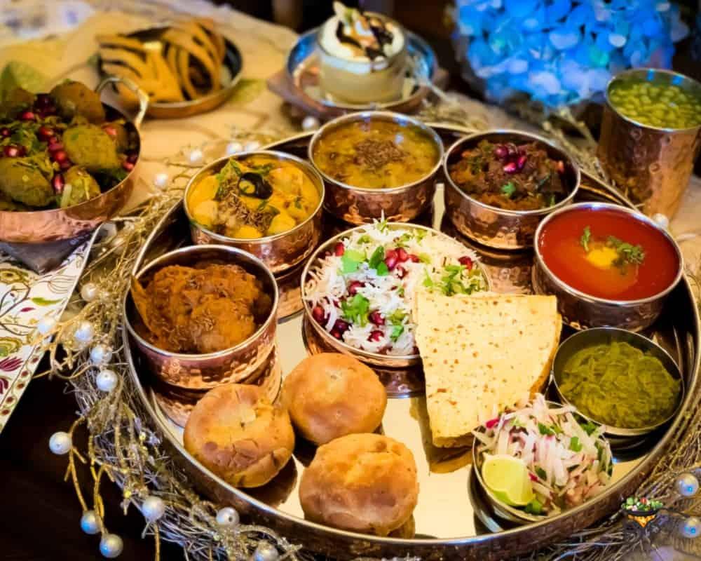 Dal bati churma authentic rajasthani thali