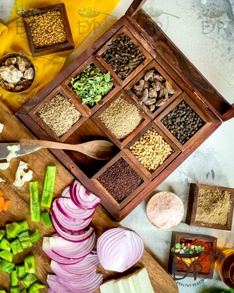 Spices for puff pastry recipe