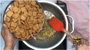 Para being mixed in syrup
